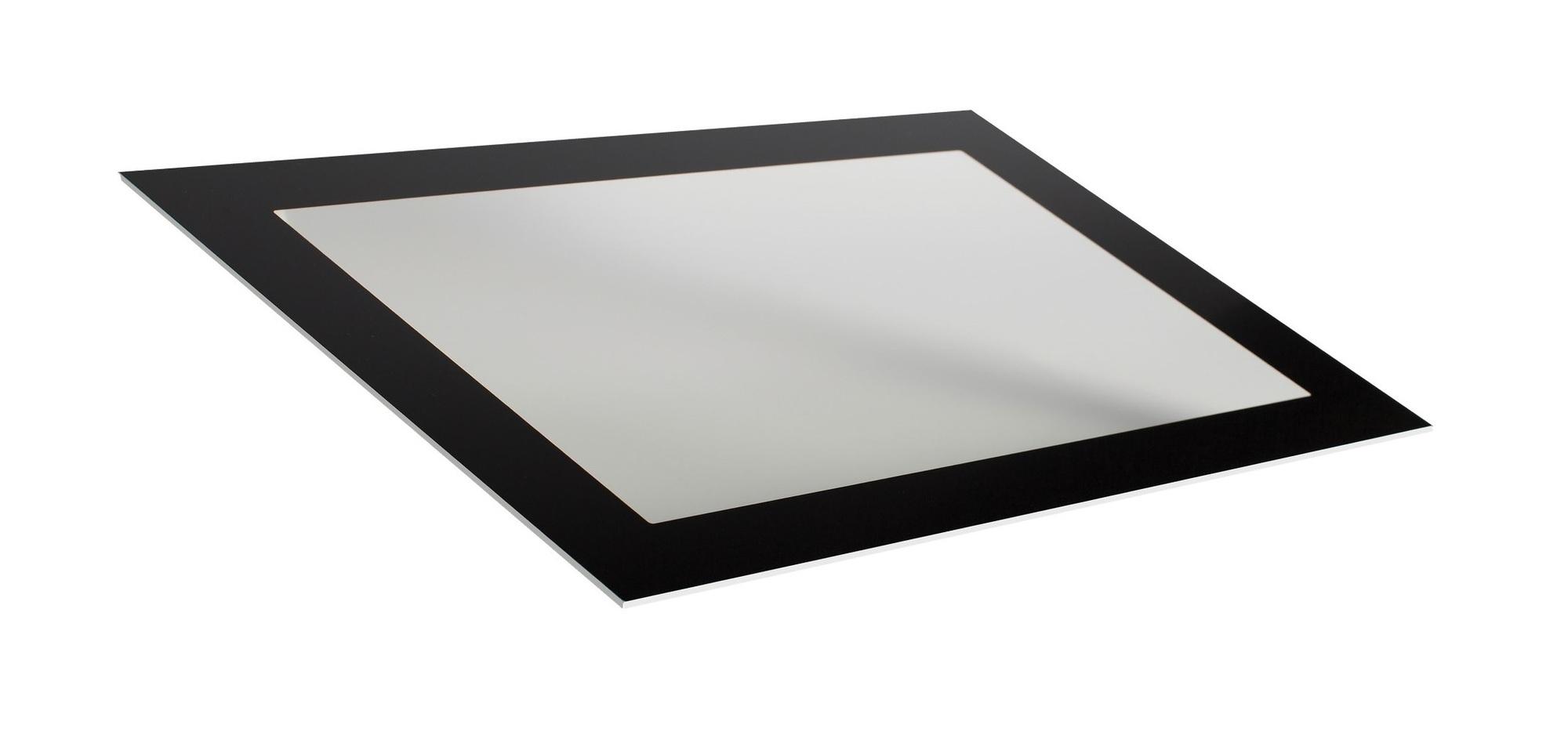 Lackierter Metall-Frontrahmen mit integriertem Touchscreen